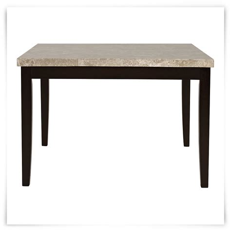 high dining table monark square marble high dining table