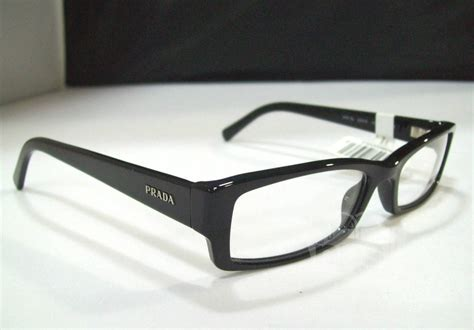 prada pr 19lv s black designer eyeglass frames ebay