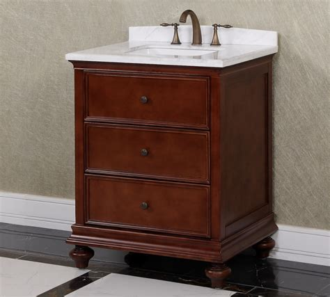 30 bathroom vanity 30 inch single sink bathroom vanity in brown uvlfwb19716a30