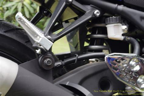 Suspensi Belakang Vixion kenapa suspensi belakang yamaha r25 tidak pakai link itu karena udah di bekali