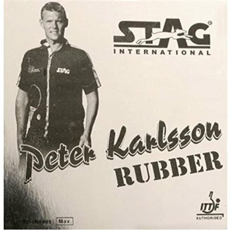 stag rubber st stag table tennis rubber international ittf authorised