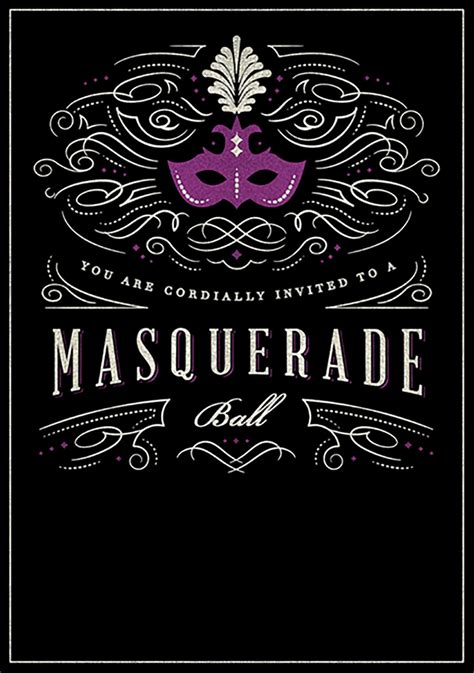 free masquerade invitation templates printable masquerade birthday invitation template