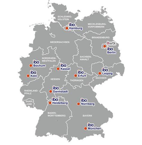 Bã Robedarf Deutschland by Iba Studienorte