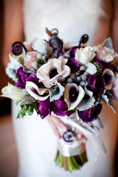 wedding bouquet violets bouquet de mari 233 e en 100 id 233 es d apr 232 s le langage des fleurs
