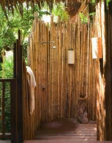 outside bathroom ideas 18 tropical and outdoor shower ideas small house