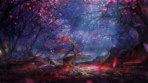 Beautiful Forest Art   Artist HD 4k Wallpapers
