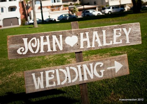 Handmade Wedding Signs - handmade wedding signs from etsy personalized wedding