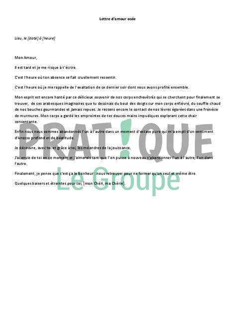 Exemple De Lettre D Amour Lettre D Amour Os 233 E Pratique Fr