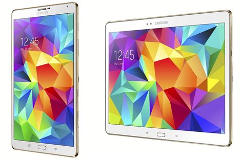 Samsung Tab S samsung announce new galaxy tab s tablets with