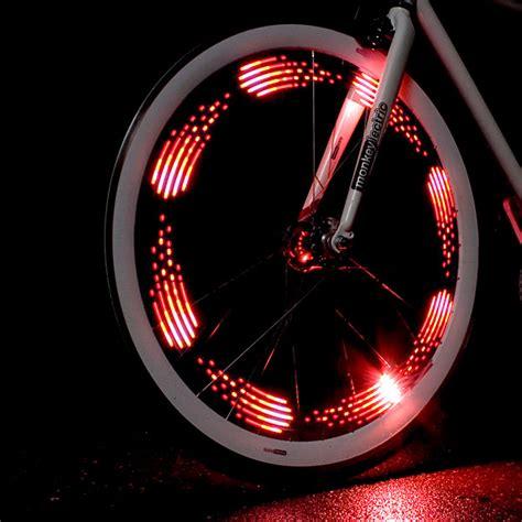 Monkey Bike Lights by Monkey Light 8 Bit Bike Wheel Light Thinkgeek