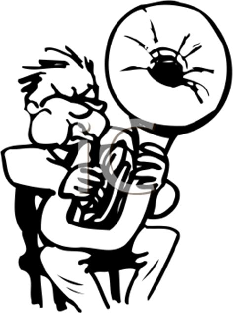 royalty free tuba clipart