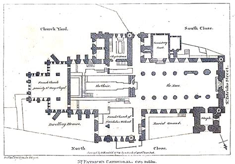 cathedral floor plan st patrick s cathedral