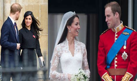 Royal Wedding Comparison by Meghan Markle S Royal Wedding V Kate Middleton Wedding