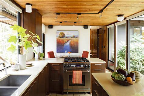 Home Remodeling Design Mid Century Modern Kitchen Remodel Portland Oregon