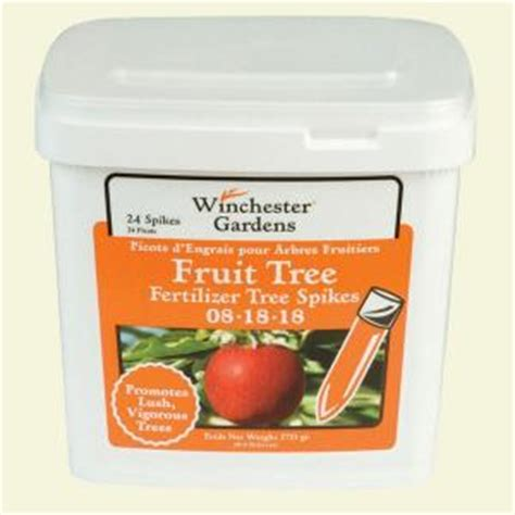 winchester gardens 6 lb fruit and citrus fertilizer