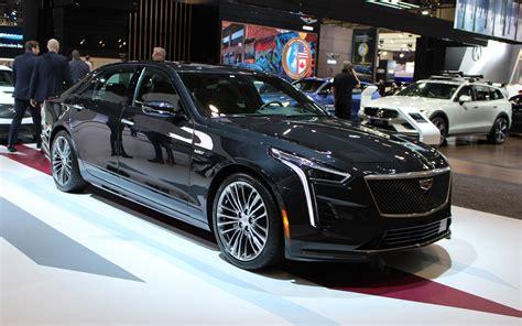 2020 chevrolet suburban detroit auto show les cadillac ct6 v 2019 et cadillac xt6 2020 d 233 voil 233 s 224