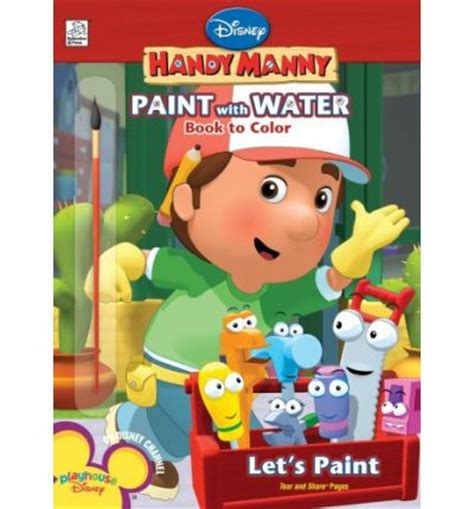 Handy Manny Paint disney handy manny let s paint neely 9781403748997