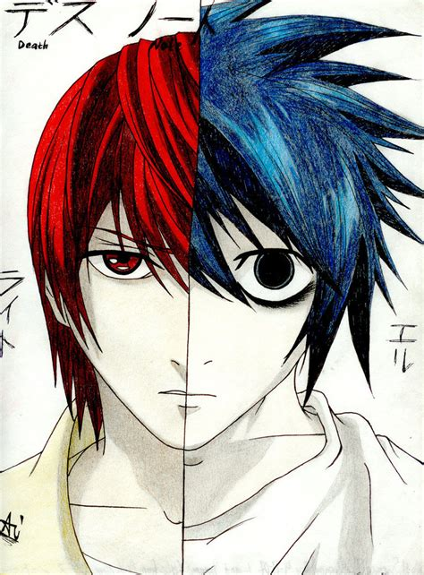 Lighting And L by Light And L To By Uzumaki Akane Sama On Deviantart