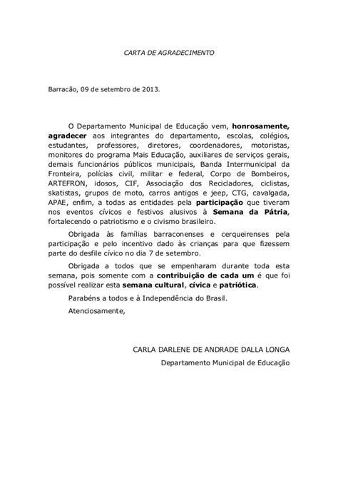 carta formal na papiamentu carta de agradecimento obrigada 224 s fam 237 lias barraconenses e cerqueir