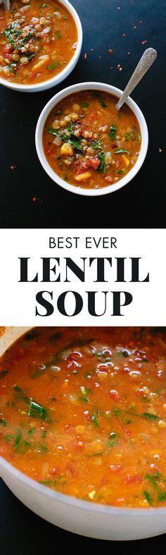 Vegan Lentil Detox Soup by The Best Detox Crockpot Lentil Soup Recipe Gluten Free
