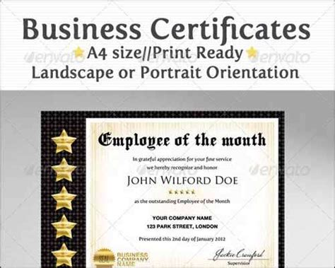 business certificate template 25 most popular certificate diploma templates 2014