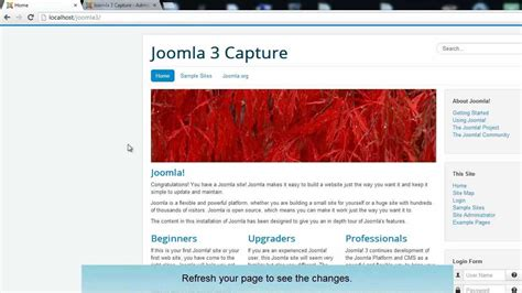 installing a joomla template how to install a joomla 3 0 templates