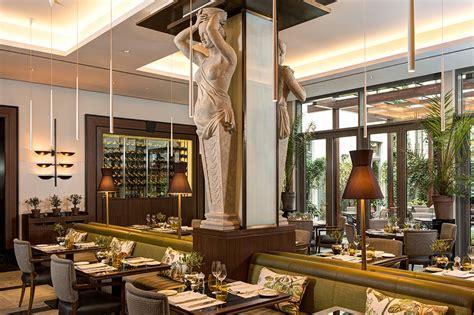 La Banca Restaurant by Hotel De Rome A Forte Hotel Luxury Hotel In