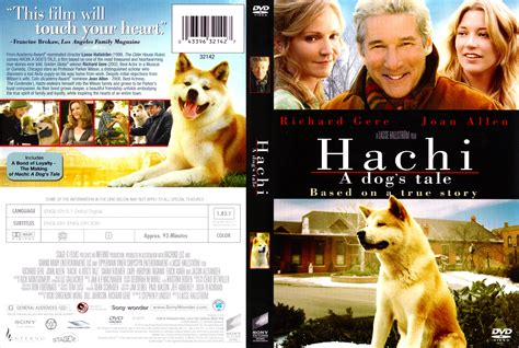 a dogs tale hachi a s tale 2009 ws r1 r4 dvd cd label dvd cover front cover