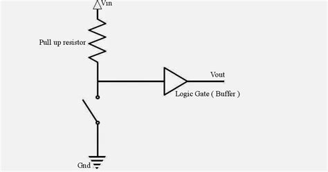 pull up resistor voltage what is pull up resistor how does pull up resistor works 171 electronics