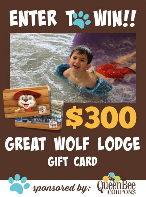 Great Grocery Giveaway Enter Pin - great wolf lodge giveaway win it pinterest wolves enter to win and new year s
