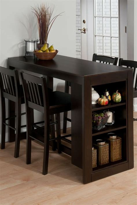 narrow counter height table for kitchen 25 best ideas about small kitchen tables on