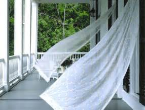 wind curtains 6 easy ways to style your outdoor living areas here