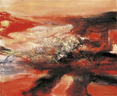 Wou Find 574 Best Zao Wou Ki Images On Abstract Abstract Paintings And
