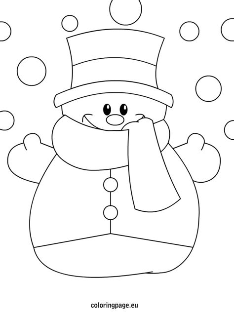cute snowman coloring pages cute winter hat coloring pages snowman me grig3 org