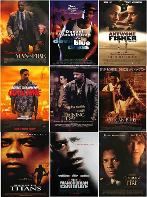 denzel washington all movies whats the best denzel washingtons movie all about