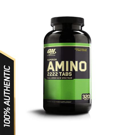 Amino On 2222 320 Tabs On Amino superior amino 2222 320 tablets