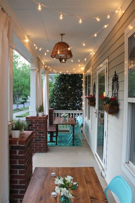 string lights for screened porch 96 best images about awesome porches on pinterest