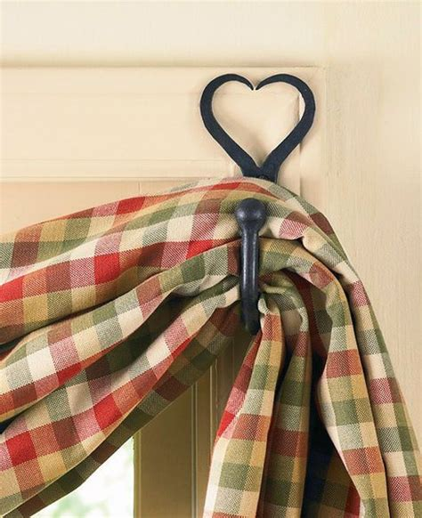 swag curtain hooks fishtail swag curtain hook heart curtains pinterest