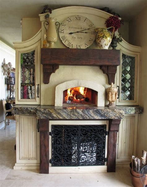 kitchen fireplace ideas the 25 best ideas about pizza ovens for home on pinterest