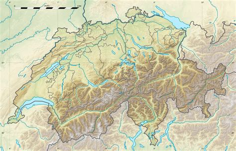 physical map of switzerland file switzerland relief location map jpg wikimedia commons