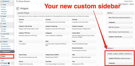 wordpress layout sidebar how to create a different sidebar for a specific blog post