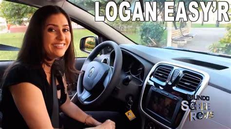 test si鑒e auto test drive renault logan automatizado easy r 2015
