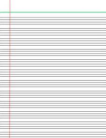 Lined Paper For Writing Lined Handwriting Paper Hand Writing