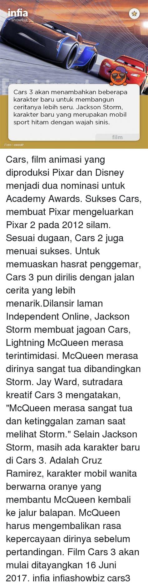 jalan cerita film cars 3 25 best memes about cars 3 cars 3 memes