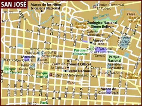 san jose city map map of san jose