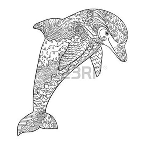 dolphin mandala coloring pages coloring pages print happy dolphin with high details