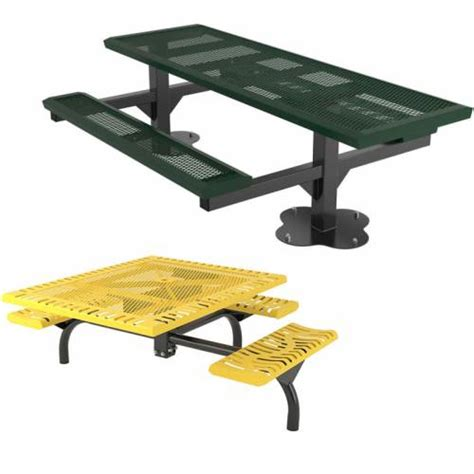commercial picnic tables with umbrellas resin patio table with umbrella commercial ada