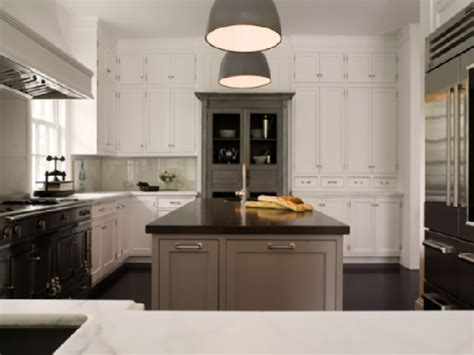 gray kitchen white cabinets gray cabinets design ideas