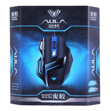 aula ghost shark kisame gaming mouse 2000 dpi black