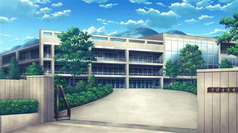 wallpaper anime school school anime scenery background wallpaper resources